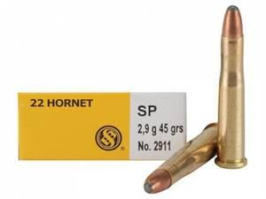 Bilde av Sellier & Bellot 22 Hornet 45grs SP 20pk